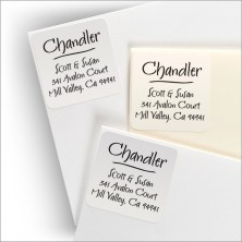 Whimsical Square Labels