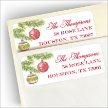 Woodland Pines Return Address Label