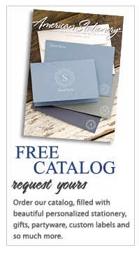 Free Stationery Catalog