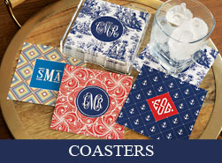 Personalized Beverage Coasters
